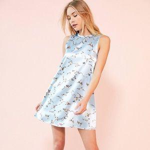 Urban Outfitters Kimchi Blue Carmine Satin Dress